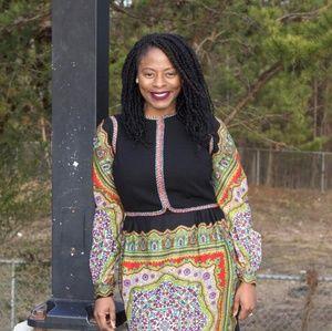 Dresses & Skirts - Vintage Black Baba Dress - No size fits size 12